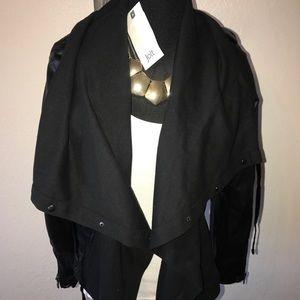 jolt vegan leather jacket